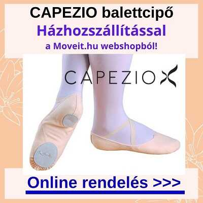 Több méretben Capezio balettcipő rendelése webshopból