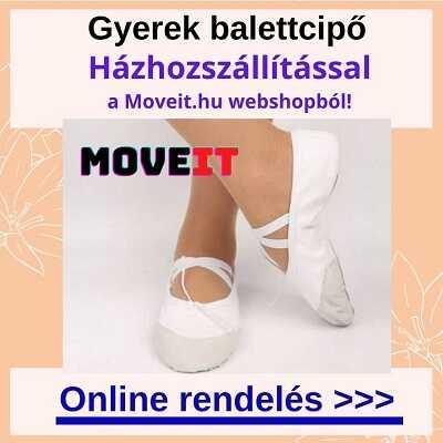 Több méretben gyerek balettcipők online vásárlása webáruházból