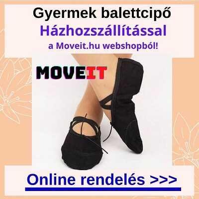 Több méretben gyermek balettcipők online rendelése webáruházból