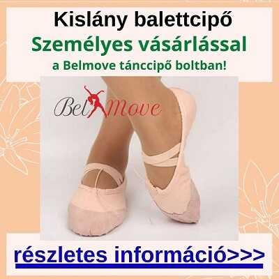 Több méretben kislány balettcipők vásárlása boltban a Nyugatinál